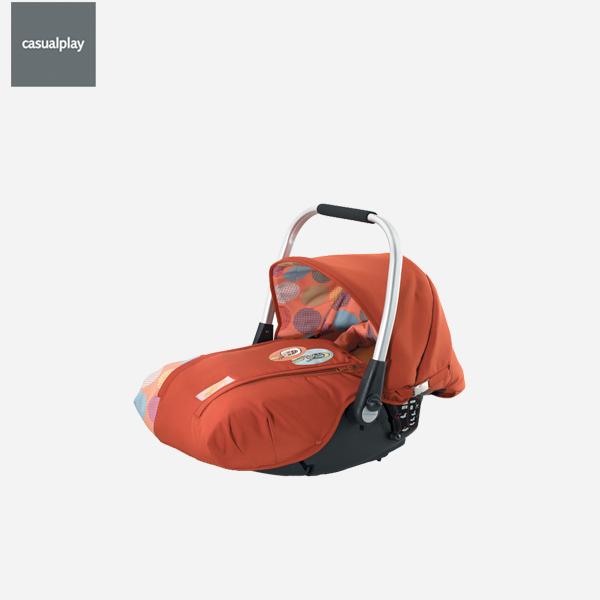 [캐주얼플레이]폴리엔패트라 프리마이지 카시트 (신생아용 카시트 + 유모차 장착 가능)
