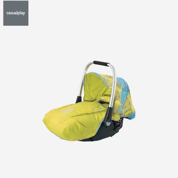 [캐주얼플레이]하우순걸 프리마이지 카시트 (신생아용 카시트 + 유모차 장착 가능)